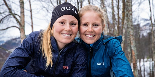 Evening with GORE® Wear athletes Lina & Sanna El Kott