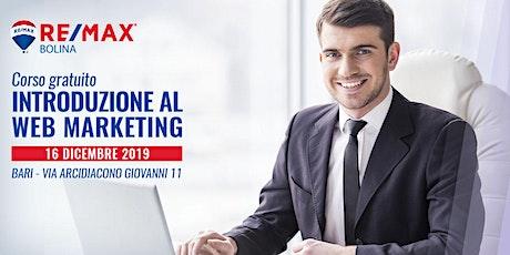 """Corso gratuito """"Introduzione al web marketing"""" biglietti"""