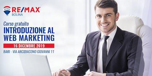 """Corso gratuito """"Introduzione al web marketing"""""""