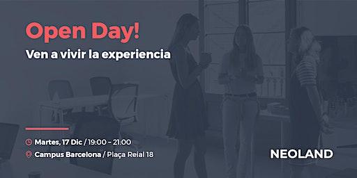 Open Day! Barcelona