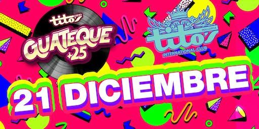 Guateque +25 Fiesta 21/12/2019