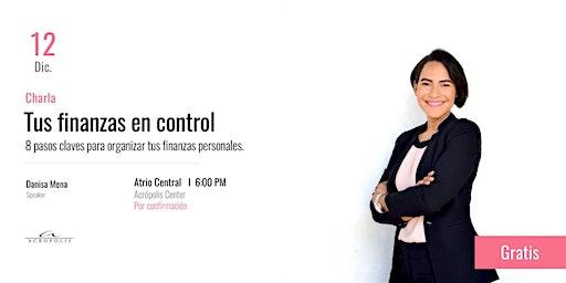 Charla: Tus finanzas en control