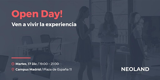 Open Day! Madrid