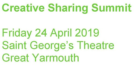 CREATIVE SHARING SUMMIT: Working Together to Create Great Places tickets