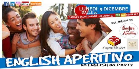 English Aperitivo --> Sessione di speaking! biglietti