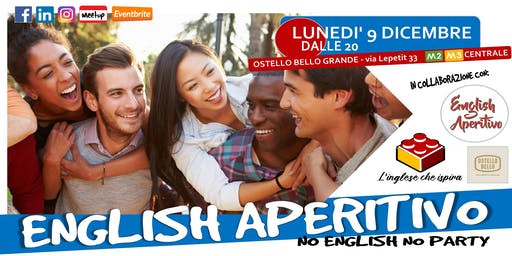 English Aperitivo --> Sessione di speaking!
