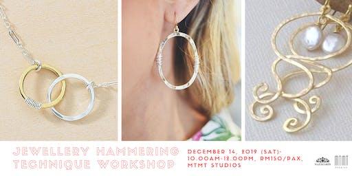 Jewellery Hammering Technique Workshop