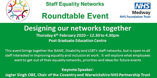 Staff Equality Networks Roundtable (Medway NHS Foundation Trust)