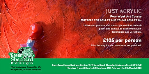 Just Acrylic (Four week course £105)
