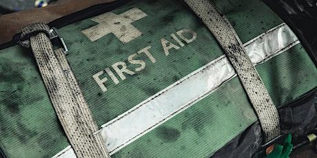 Emergency First Aid at Work & Ballistics course tickets