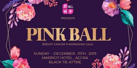 PINK BALL:  A Breast Cancer Fundraising Gala tickets