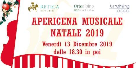 Apericena Musicale Natale 2019 biglietti