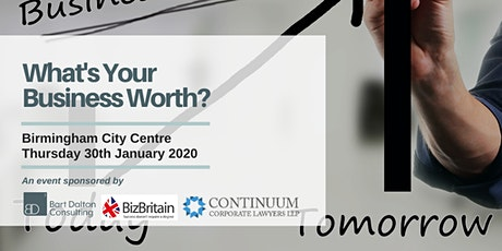 What's Your Business Worth? tickets