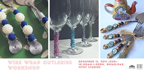 Wire Wrap Cutleries Workshop tickets
