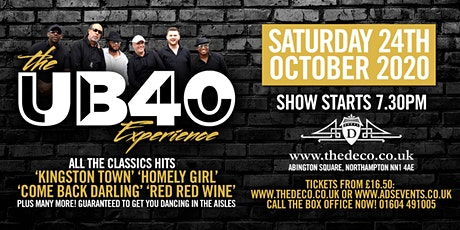 The UB40 Experience at Deco Theatre tickets