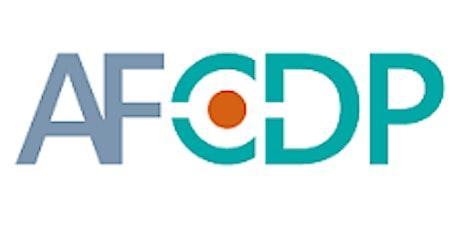 Réunion groupe AFCDP Belgique billets
