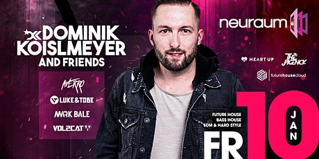 DOMINIK KOISLMEYER & FRIENDS @ neuraum Club Tickets