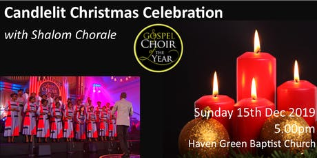 Candlelit Christmas Celebration with Shalom Chorale Gospel Choir tickets