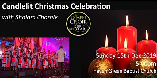 Candlelit Christmas Celebration with Shalom Chorale Gospel Choir