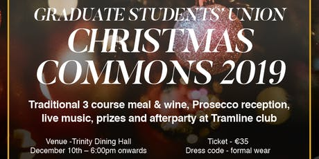 Trinity  GSU Christmas Commons Feast + YOUR PLAYLIST afterparty at Tramline tickets