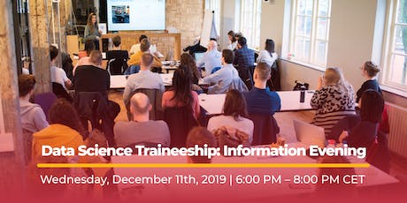 Data Science Traineeship: Information Evening tickets