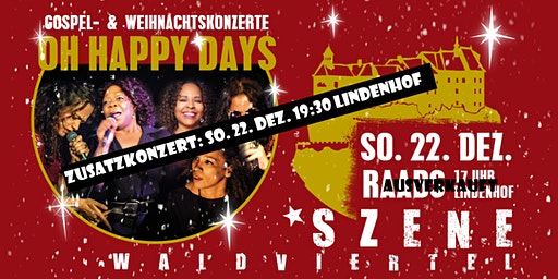 OH HAPPY DAYS - Gospelkonzert - a VIENNESE LADIES special - ZUSATZKONZERT