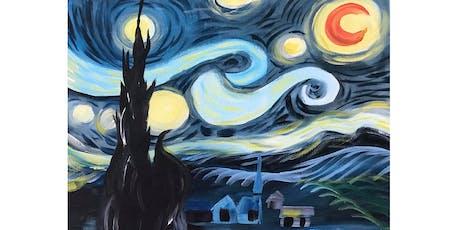 Van Gogh Starry Night - Woolloomooloo Bay Hotel tickets