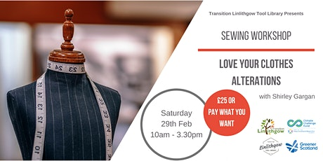 Sewing Workshop: Love Your Clothes - Alterations tickets