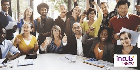 Formation à la création d'entreprise : Maturation de projet( dédier au RSA) tickets