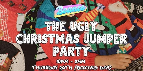 Bounce - The Ugly Christmas Jumper Party tickets