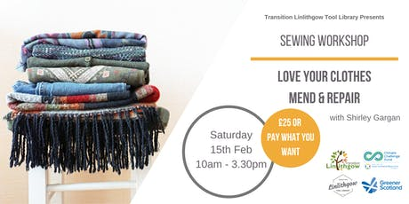 Sewing Workshop: Love Your Clothes - Mend and Repair tickets