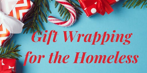 Gift Wrapping for the Homeless - session 2