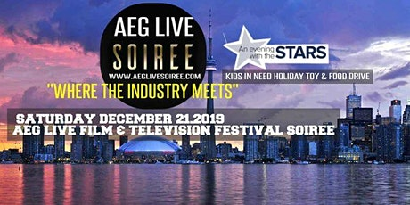 AEG LIVE FILM & TELEVISION SOIREE   IN CONVERSATION EVENING WITH THE STARS tickets