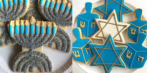 Channukah Cookie Platter Decorating Workshop for Kids and Adults