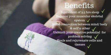 Yoga Nidra + Sound Bath tickets