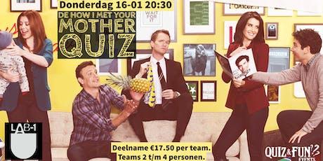 De How i Met Your Mother Quiz   Eindhoven tickets