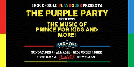 The Purple Party ft. The Music of Prince for Kids and more! tickets