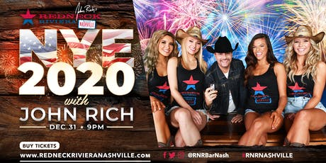 Redneck Riviera's New Year's Eve Bash on Broadway with John Rich! tickets