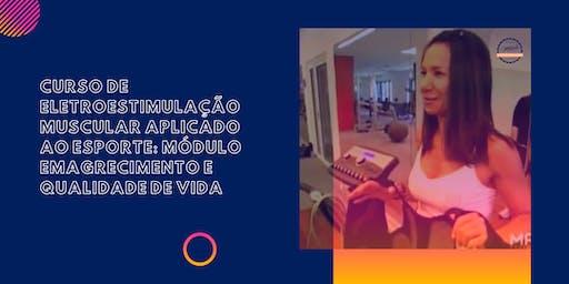 Curso de Eletroestimulação Aplicado ao Fitness: Módulo EMAGRECIMENTO