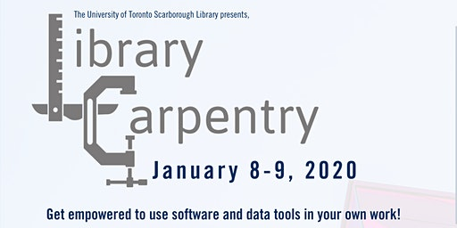Library Carpentry Workshop at the University of Toronto Scarborough Library