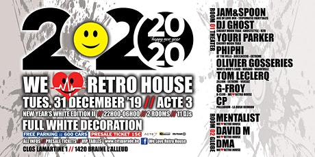 WELOVERETRO HOUSE :: NEW YEARS WHITE EDITION II !!! billets