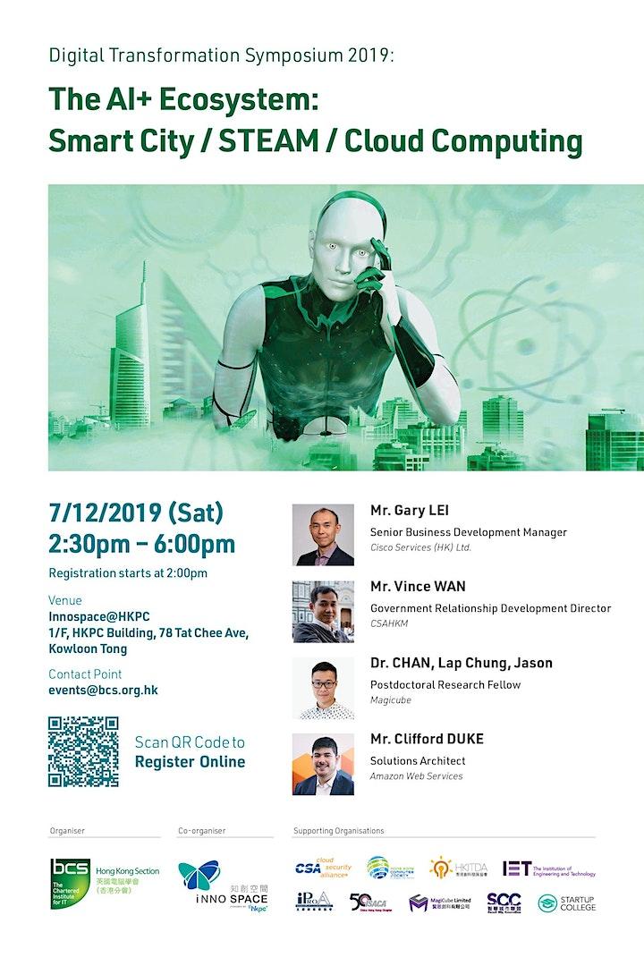 Digital Transformation Symposium 2019: The AI+ Ecosystem image