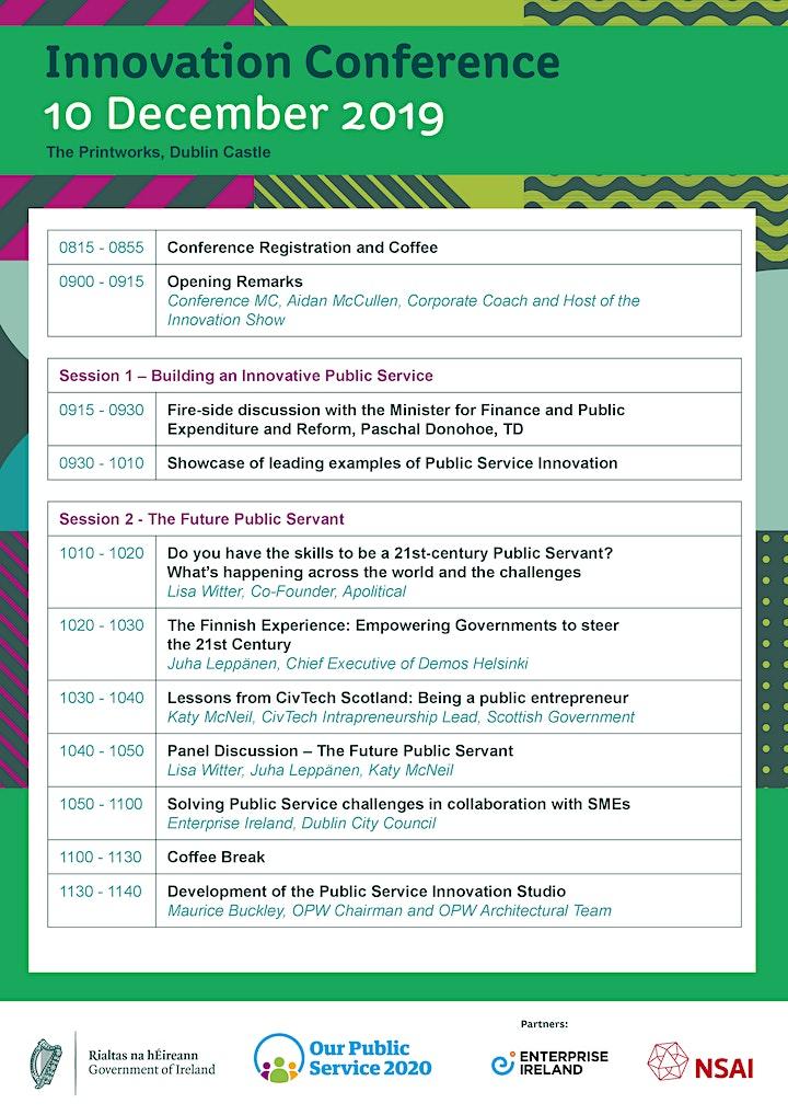 Public Service Innovation Conference image