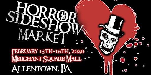Horror Sideshow Market February 2020 Vendor Sign up