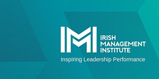 Masterclass 3 - Cork: Dual-Purpose Leadership with Dr Tasha Eurich