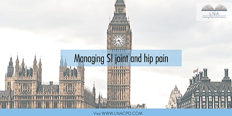 SI Joint and Hip Pain tickets