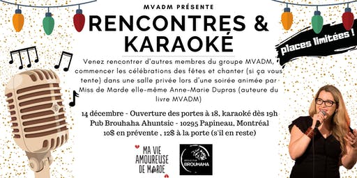 Rencontres & Karaoké MVADM