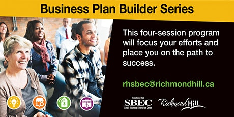 Business Plan Builder Series: Session 3 - Marketing and Sales tickets