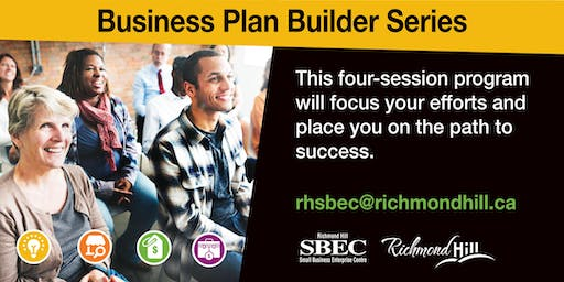 Business Plan Builder Series: Session 3 - Marketing and Sales