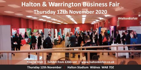 Halton and Warrington Business Fair 2020 tickets
